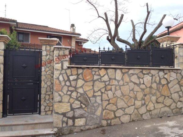 diana pedonale + recinzione